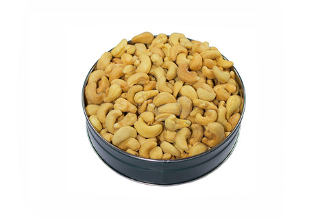 Fresh Roasted Cashews in a Tin 1lb