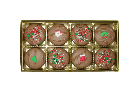 Christmas Chocolate Covered Oreo's ®