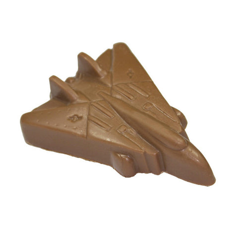 Solid Chocolate Jet Fighter