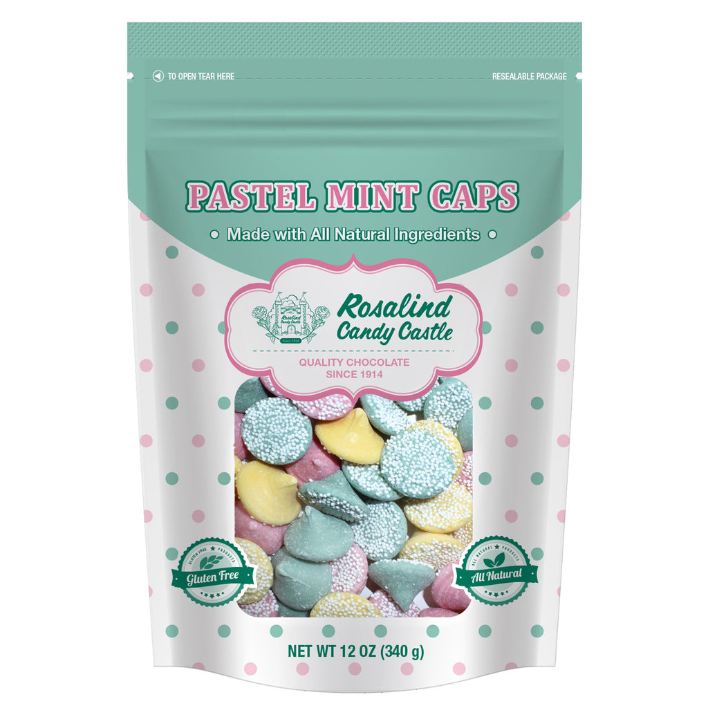 Pastel Mint Caps 12oz