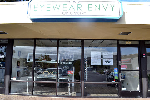 Eyewear Envy Optometry Storefront
