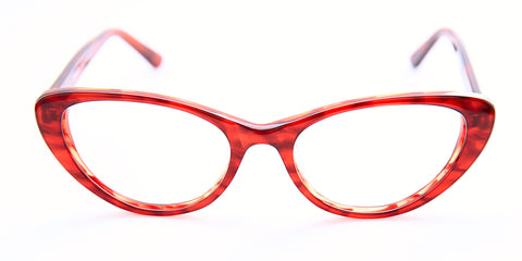 Revelly | Hope Red Asian Fit Eyeglasses