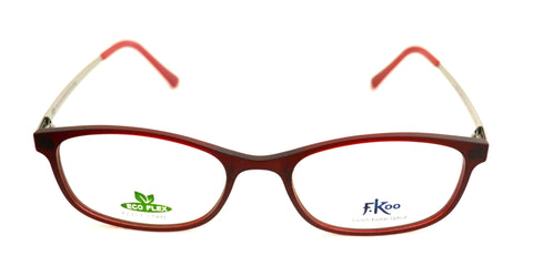 Seesun Eco-1 Red Eyeglasses - Eyewear Envy - 1