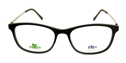 Seesun Eco-3 Black Eyeglasses - Eyewear Envy - 1