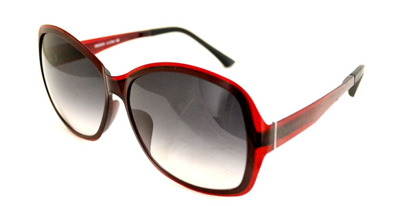 Seesun SUR1002 Women's Red Asian Fit Sunglasses