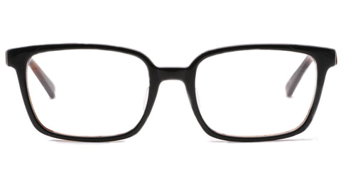 TC Charton | Barry Black and Tortoise Asian Fit Eyeglasses