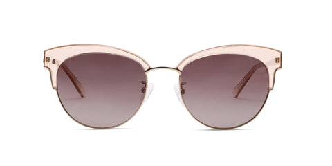 TC Charton | Celest Crystal Brown Asian Fit Polarized Sunglasses