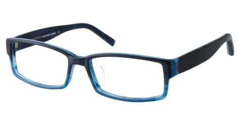 TC Charton | Eddie Matte Blue Asian Fit Eyeglasses
