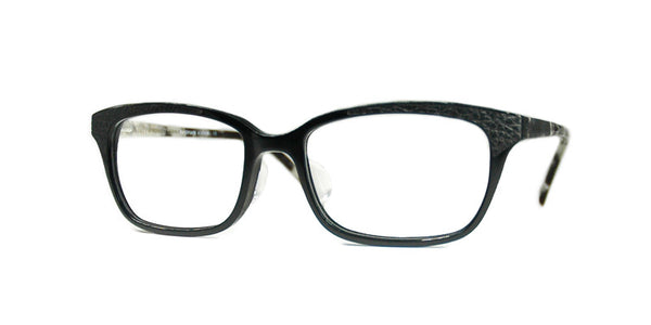 TC Charton | Mandi Black Leather Eyeglasses