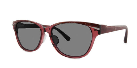 TC Charton | Masa Burgundy Snake Polarized Sunglasses
