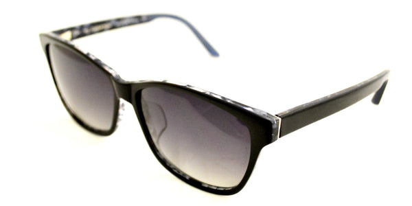 TC Charton | Sienna Black/Blue Polarized Sunglasses