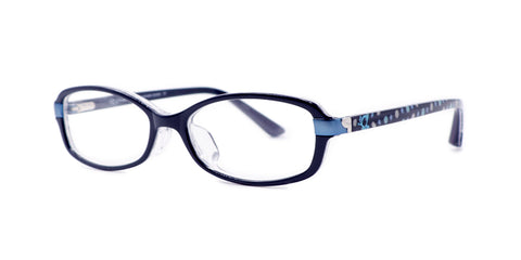 TC Charton | Sydney Kid's Asian Fit Navy Blue/Polka Dot Eyeglasses