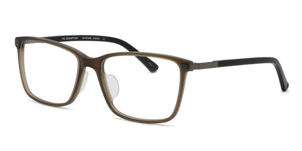 TC Charton | Warren Matte Olive Asian Fit Eyeglasses