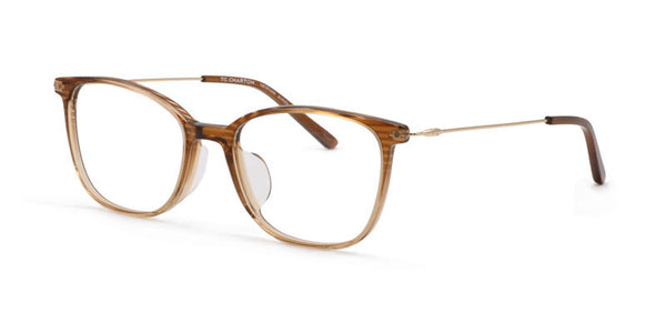 TC Charton | Winnie Women's Crystal Brown Asian Fit Eyeglasses