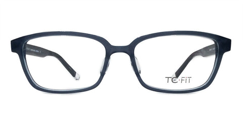 TC Fit | Berlin Blue Slate Asian Fit Unisex Eyeglasses