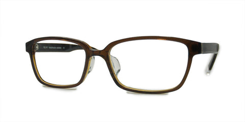 TC Fit | Berlin Brown Asian Fit Unisex Eyeglasses