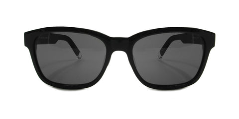 TC Fit | Costa Rica Asian Fit Unisex Black Sunglasses