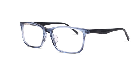TC Fit | Istanbul Crystal Blue and Navy Asian Fit Eyeglasses