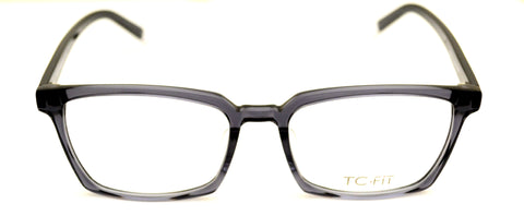 TC Fit | Boston Unisex Crystal Rock Asian Fit Eyeglasses