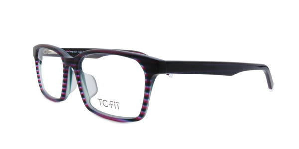 TC Fit | Oslo Purple/Forest Green Asian Fit Eyeglasses