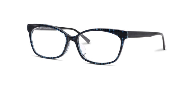 TC Fit | Paris Crystal Blue Ocean Asian Fit Eyeglasses