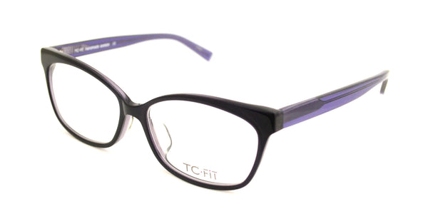 TC Fit | Paris Black Purple Eyeglasses - Eyewear Envy - 2