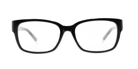 TC Fit | Santiago Unisex Black Asian Fit Eyeglasses
