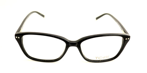 TC Fit | Sevilla Black Asian Fit Eyeglasses