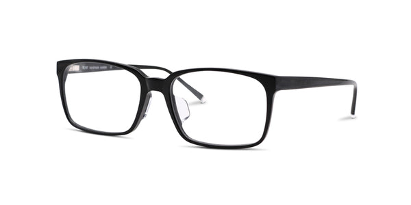 TC Fit | Toronto Black Asian Fit Eyeglasses