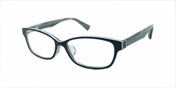 TC Charton | Ana Small Black Marble Eyeglasses