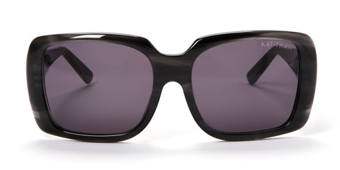 Kay Tran | Jennifer Graphite Gray Sunglasses