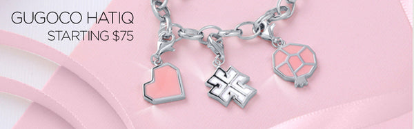 Enamel Charms Make Great Gifts for Mom