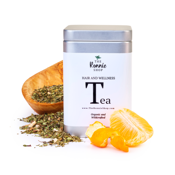 Ronnie's Organic Hair and Wellness Tea (FILLED TEA BAGS)