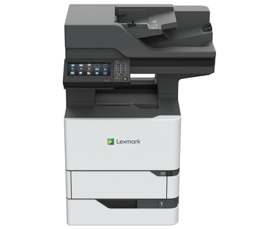 Lexmark MX722adhe A4 Mono Multifunction Laser Printer - The Printer Clinic