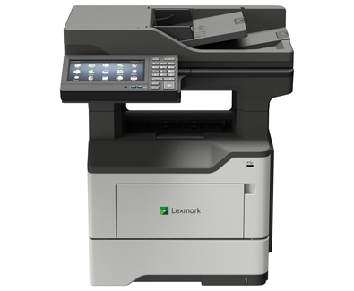 Lexmark MX622adhe A4 Mono Multifunction Laser Printer - The Printer Clinic
