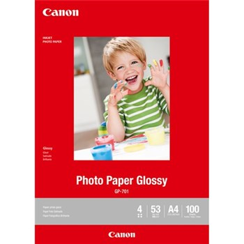 Canon A4 Glossy Photo 200GSM CGP701A4 (100PK)