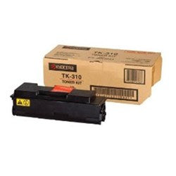 Kyocera  FS-2000D / 3900DN / 4000DN TK-310 Black Toner Cartridge - Genuine OEM, 12k Yield, TK-310 - The Printer Clinic