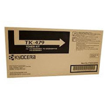 Kyocera TK-479 Black Toner Cartridge , Genuine OEM, 15k Yield, TK-479 - The Printer Clinic