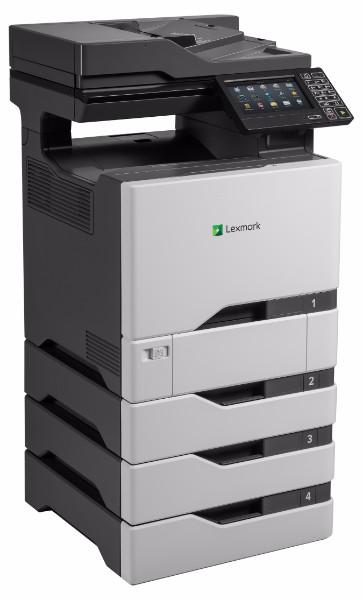 Lexmark CX725dhe A4 Colour Multifunction Laser Printer - The Printer Clinic