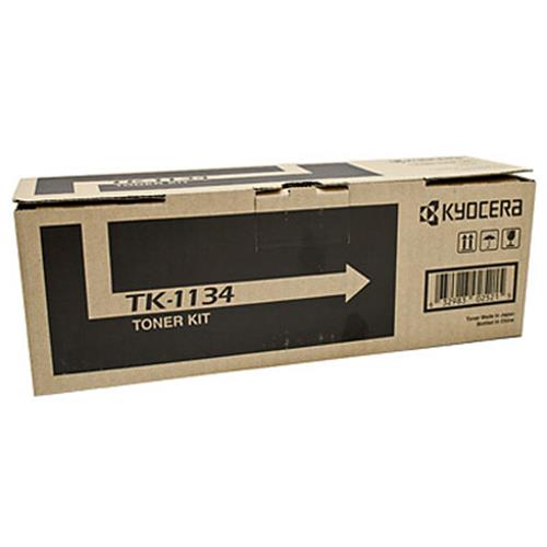Kyocera FS-1030MFP / 1130MFP, Genuine OEM, 3k Yield, TK-1134 TOner Kit - The Printer Clinic