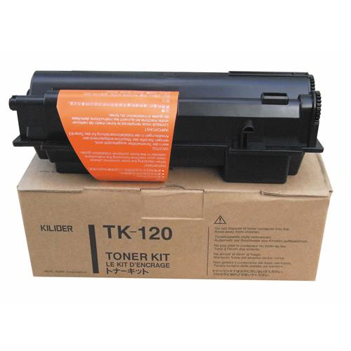 Kyocera FS-1030D Toner Cartridge ,Genuine OEM, 7.5k Yield, TK-120