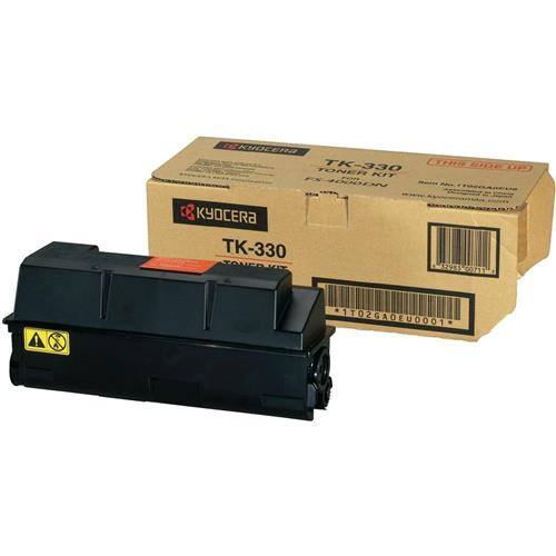 Kyocera FS-4000DN Toner Cartridge, Genuine OEM, 20k Yield, TK-330 - The Printer Clinic