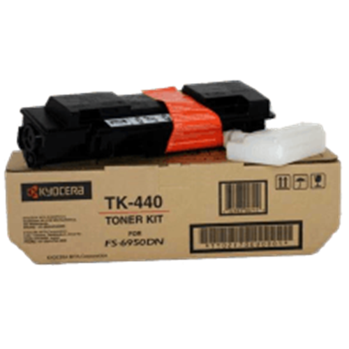 Kyocera FS-6950DN Toner Cartridge , Genuine OEM, 15k Yield, TK-440 - The Printer Clinic