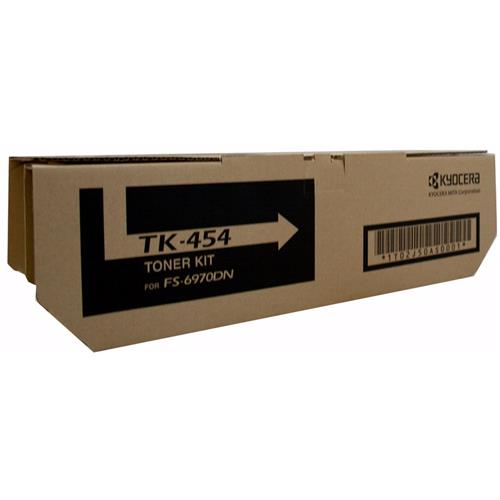 Kyocera FS-6970DN Toner Cartridge , Genuine OEM, 15k Yield, TK-454 - The Printer Clinic