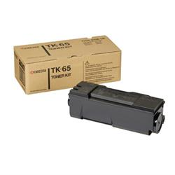 Kyocera FS-3820/3830 Black Toner Cartridges, Genuine OEM, 20k Yield, TK-65