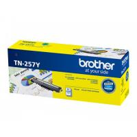 Brother TN-257Y Genuine Yellow High Yield Toner Cartridge OEMBRTN257Y
