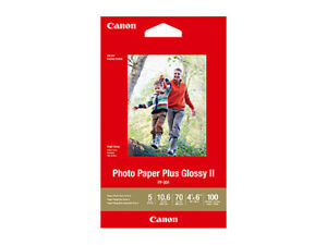 Canon 4X6 Glossy Photo Paper Plus II 265GSM CPP3014X6-100 (100PK)