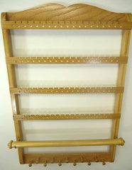 Single Bangle Jewelry Holder Organizer Honey Oak - Jewelry Holders For You