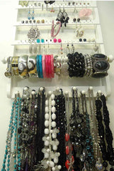 Single Bangle Jewelry Organizer White - Jewelry Holders For You