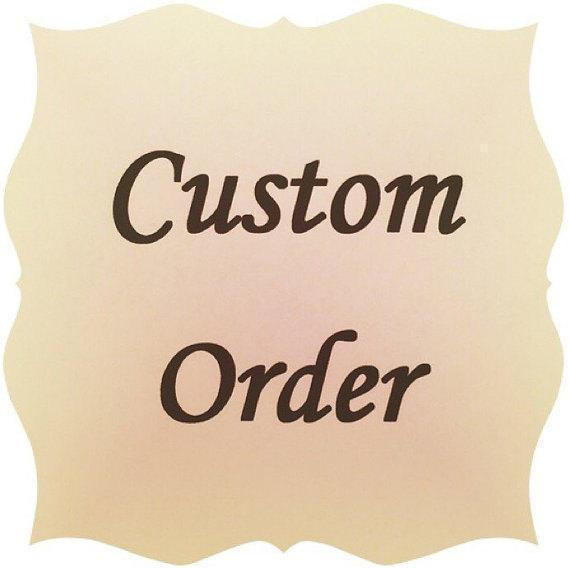 Custom Order for Bettie - Jewelry Holders For You